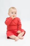 красный цвет младенца стоковая фотография rf