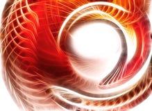красный цвет молнии иллюстрации Стоковые Фото