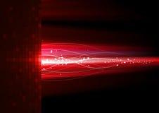 красный цвет молнии иллюстрация вектора