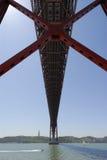 красный цвет моста Стоковые Фотографии RF