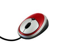 красный цвет мыши Стоковые Фотографии RF