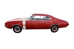 красный цвет мышцы автомобиля Стоковое Изображение