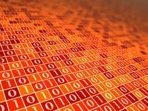 красный цвет настроения b цифровой Стоковая Фотография