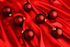 Красный цвет на красной элегантности праздника стоковая фотография