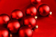 Красный цвет на красной элегантности праздника стоковая фотография rf