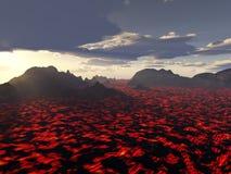 красный цвет неистовства горячий Стоковые Фото