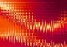 красный цвет нерезкости Стоковые Изображения RF