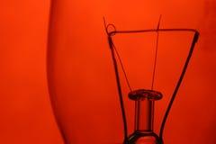 красный цвет нити Стоковые Изображения RF