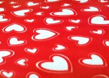 красный цвет одеяла Стоковые Фотографии RF