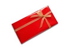 красный цвет пакета подарка Стоковая Фотография RF