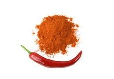 красный цвет перца чилей Стоковое Фото
