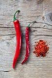 красный цвет перца chili Стоковое фото RF