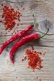 красный цвет перца chili Стоковые Фотографии RF