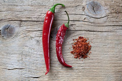 красный цвет перца chili Стоковое Фото