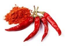 красный цвет перца chili Стоковое Изображение RF