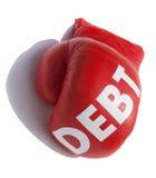 красный цвет перчатки Стоковые Фотографии RF