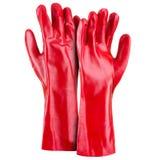 красный цвет 2 перчаток Стоковая Фотография RF