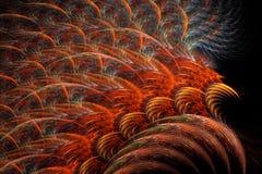 красный цвет пер нес Стоковая Фотография