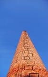 красный цвет печной трубы кирпичей Стоковые Изображения RF