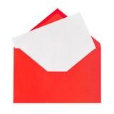 красный цвет письма стоковое фото rf
