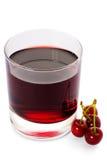 красный цвет питья вишни ank Стоковые Изображения RF