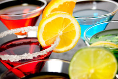 красный цвет питья коктеила Стоковое Изображение