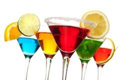 красный цвет питья коктеила Стоковые Фото