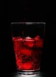 красный цвет питья коктеила Стоковые Изображения
