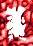красный цвет плазмы граници Стоковое Фото