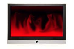 красный цвет плазмы Стоковые Фотографии RF