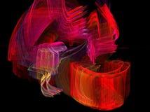 красный цвет пламени Стоковые Изображения RF