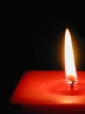 красный цвет пламени Стоковая Фотография RF