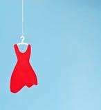 красный цвет платья стоковое изображение rf