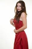 красный цвет платья стоковая фотография rf