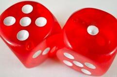 красный цвет плашек Стоковое фото RF