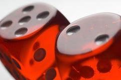 красный цвет плашек Стоковое Изображение