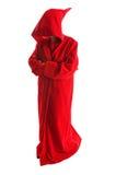 красный цвет плаща Стоковая Фотография