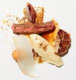 красный цвет плиты мяса овечки Стоковое Изображение