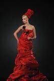 красный цвет повелительницы поднял Стоковое Изображение