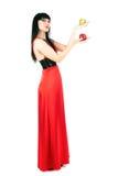 красный цвет повелительницы яблок Стоковое Изображение RF