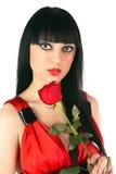 красный цвет повелительницы Стоковое Фото