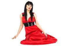 красный цвет повелительницы Стоковые Фотографии RF