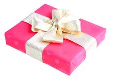 красный цвет подарка коробки Стоковые Изображения RF