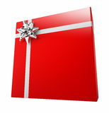 красный цвет подарка коробки Бесплатная Иллюстрация