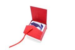 красный цвет подарка Стоковое Изображение