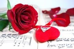 красный цвет подарка Стоковые Изображения RF