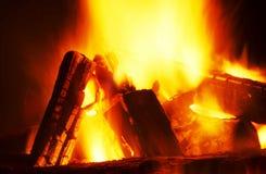 красный цвет пожара Стоковые Изображения