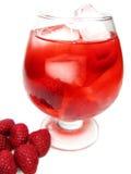 красный цвет поленики пунша плодоовощ питья коктеила Стоковые Фото