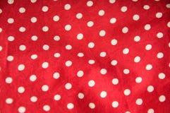 красный цвет польки многоточия предпосылки Стоковое Фото