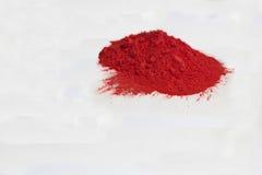 красный цвет порошка стоковое фото rf